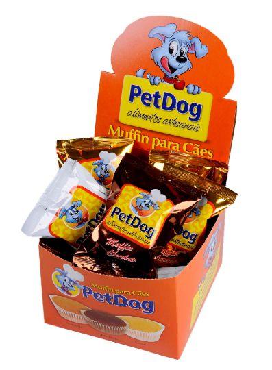 Muffin de Chocolate Pet Dog
