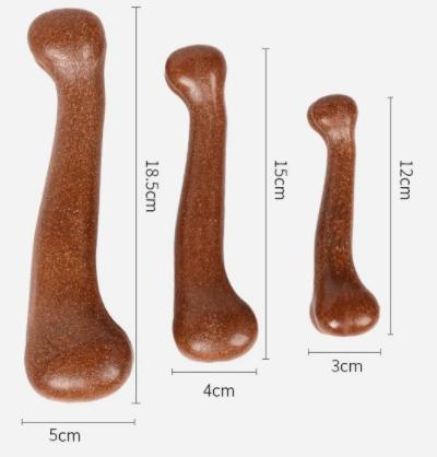 Osso de Nylon Duro Bege