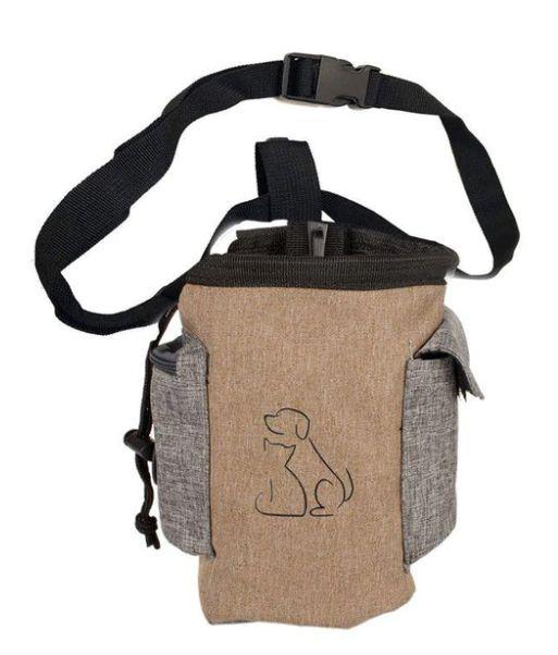 Petisqueira lateral  logo - Recompense seu cão durante os passeios.