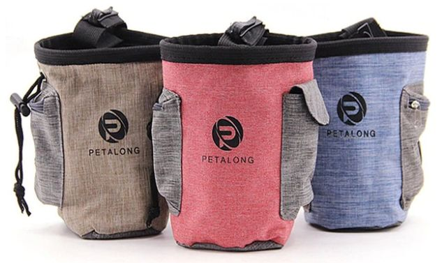 Petisqueira Lateral Petalong - Ideal Para Adestramento De Cães