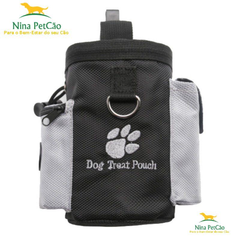 Petisqueira - Leve petiscos para recompensar seu cão durante seus passeios.