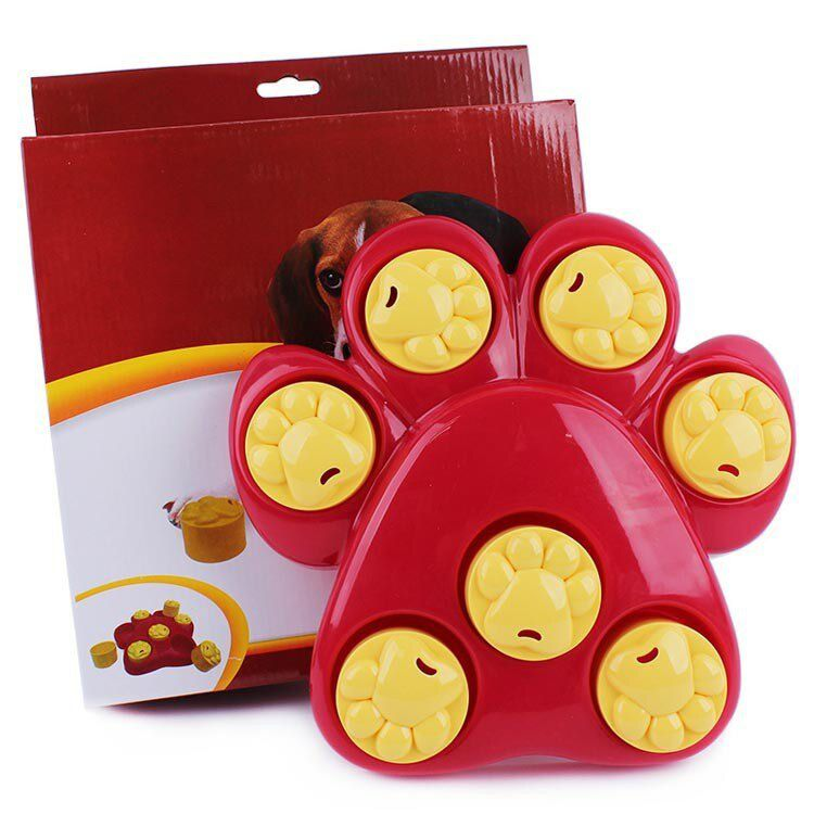 Quebra Cabeça Pata Vermelho e Amarelo