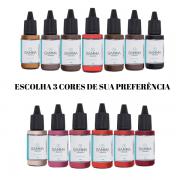 3 CORES A SUA ESCOLHA - Gamma Pigments