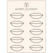 Pele Sintética - Lábios - Gamma Academy