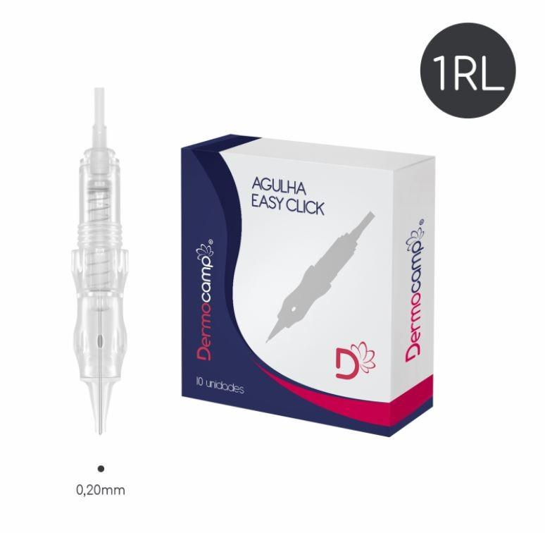 Agulha 1RL Easy Click - 0.20mm - CX com 10 unidades
