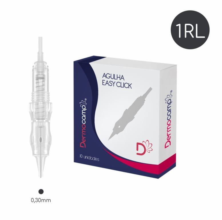 Agulha 1RL Easy Click - 0.30mm - CX com 10 unidades