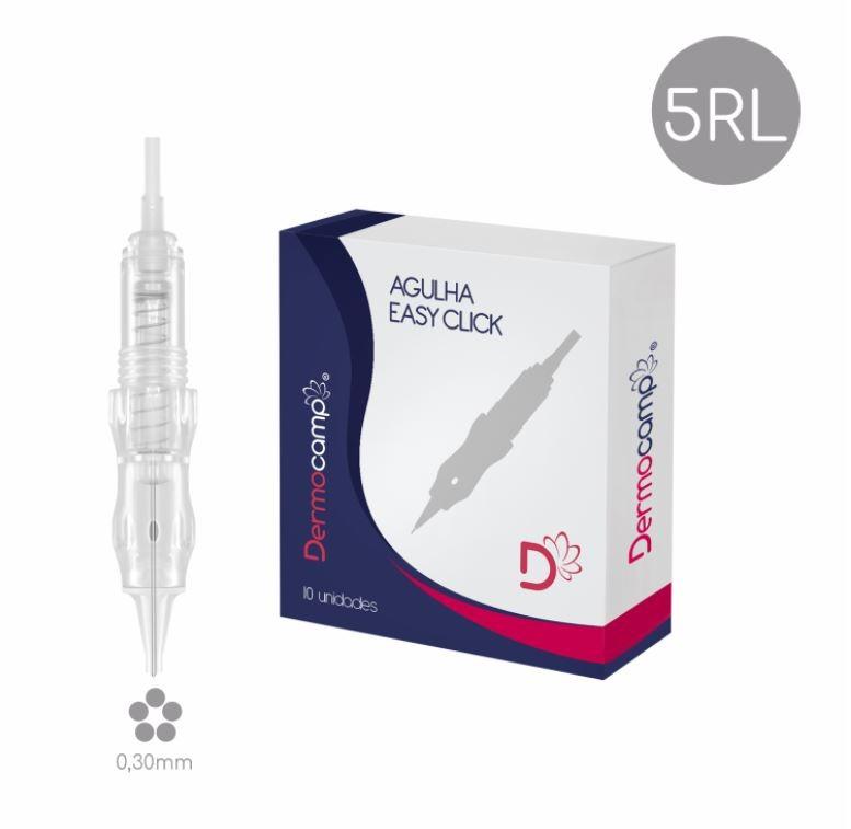 Agulha 5RL Easy Click - 0.30mm - CX com 10 unidades