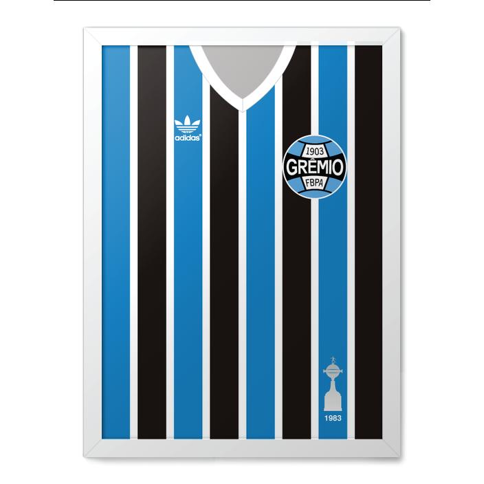 248454f119cc5 1983 Libertadores - Quadro Grêmio - Futzera