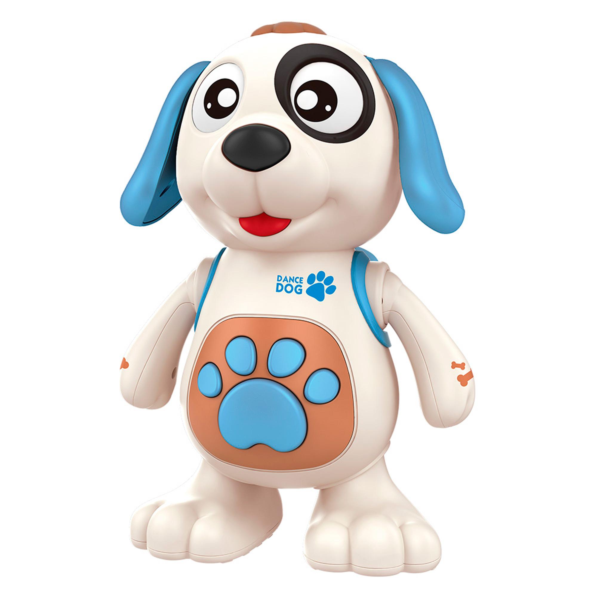 Cachorro Dançante Brinquedo Musical C/ Luz E Som