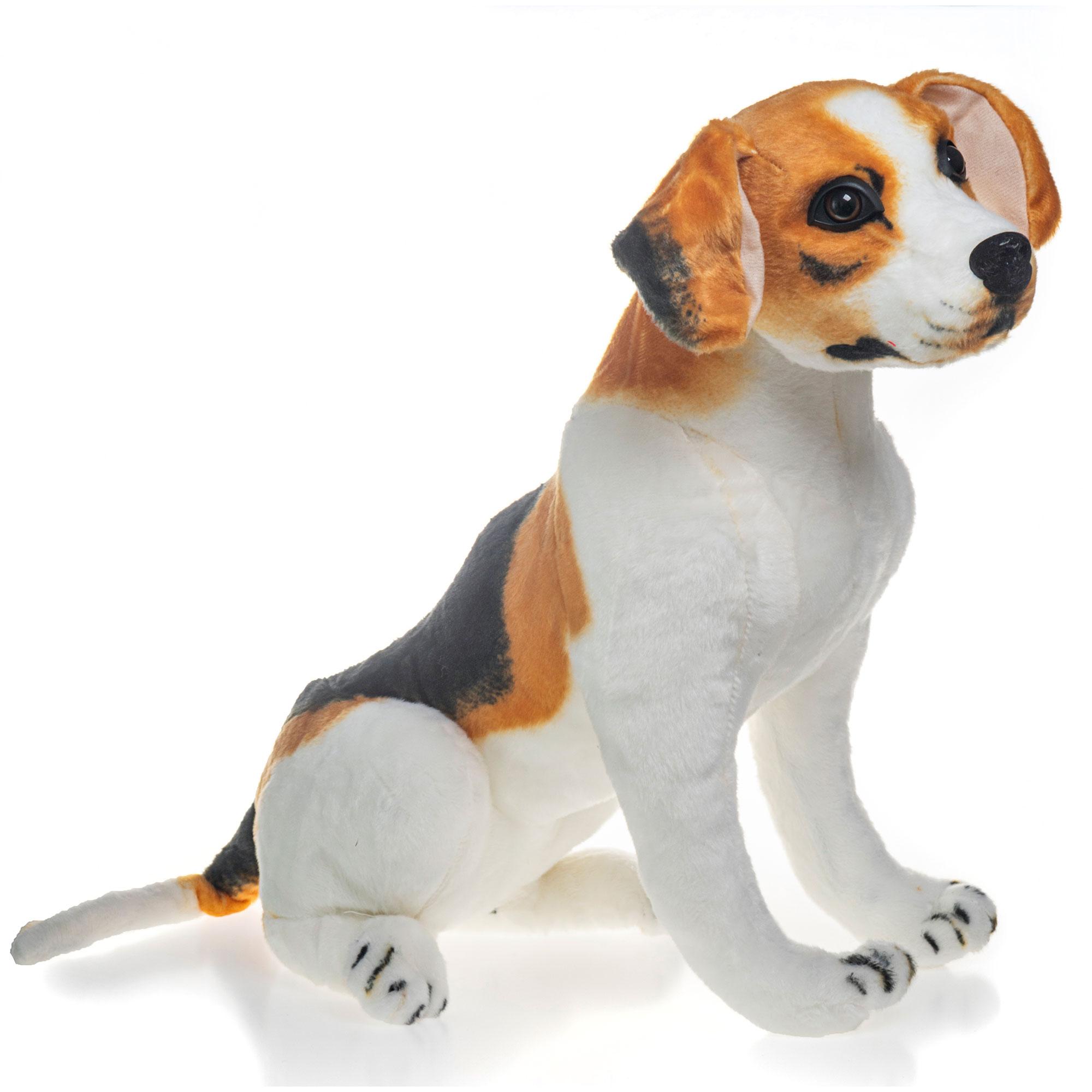 Cachorro de Pelúcia Beagle 46cm
