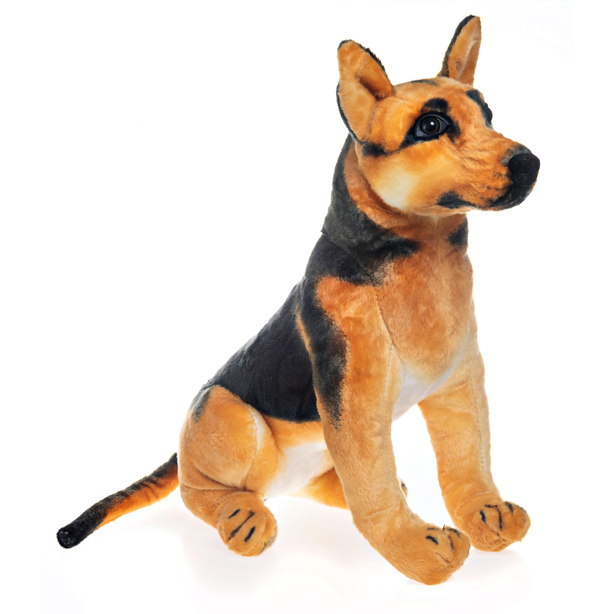 Cachorro de Pelúcia Pastor Alemão 46cm