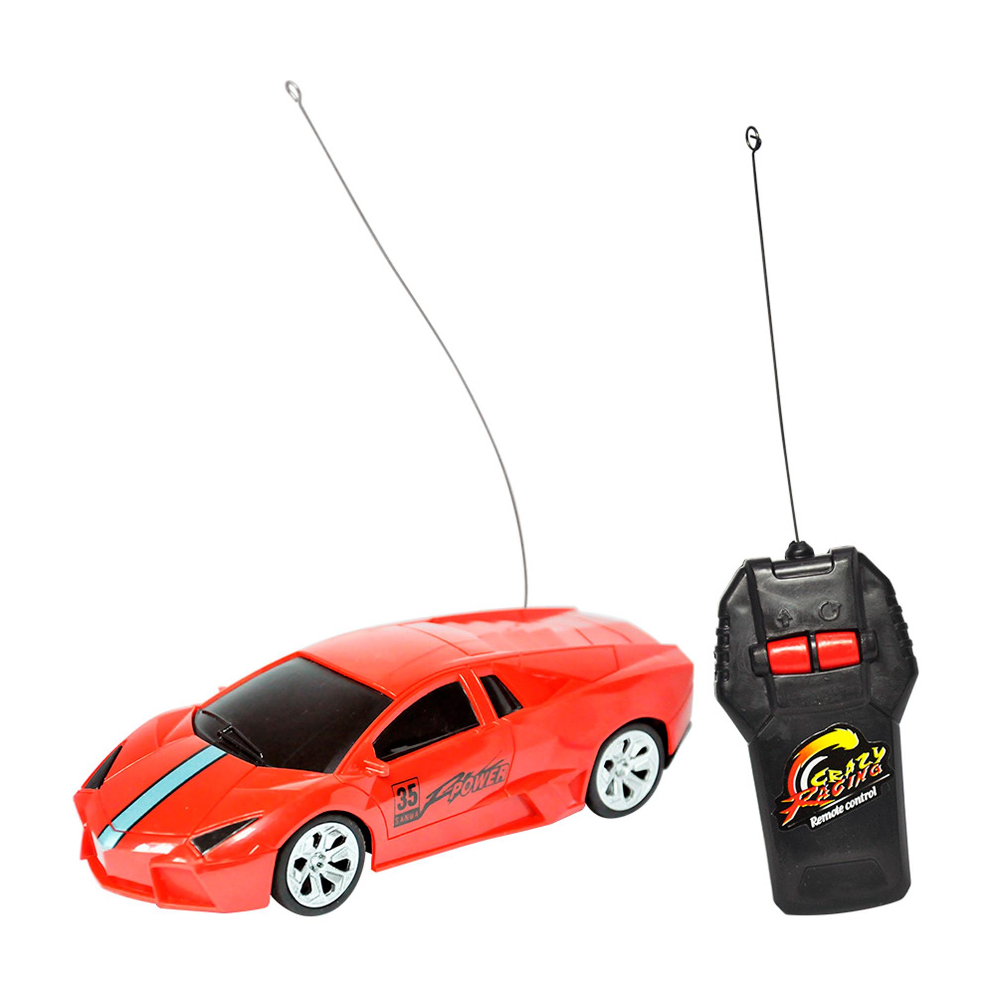 Carrinho Controle Remoto Lamborghini Esportivo Vermelho