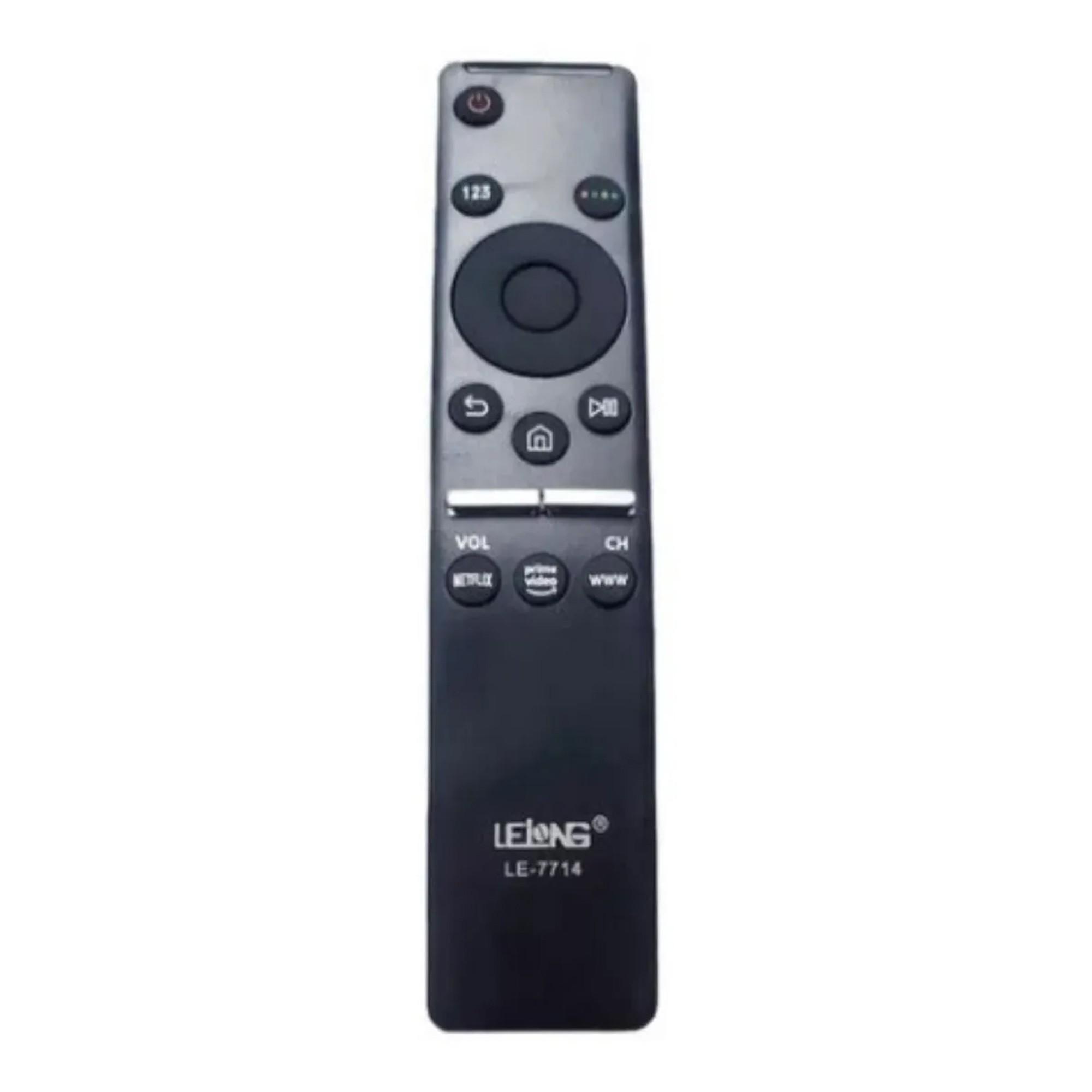 Controle Remoto TV Samsung Smart Led 4k Netflix / Prime / Internet