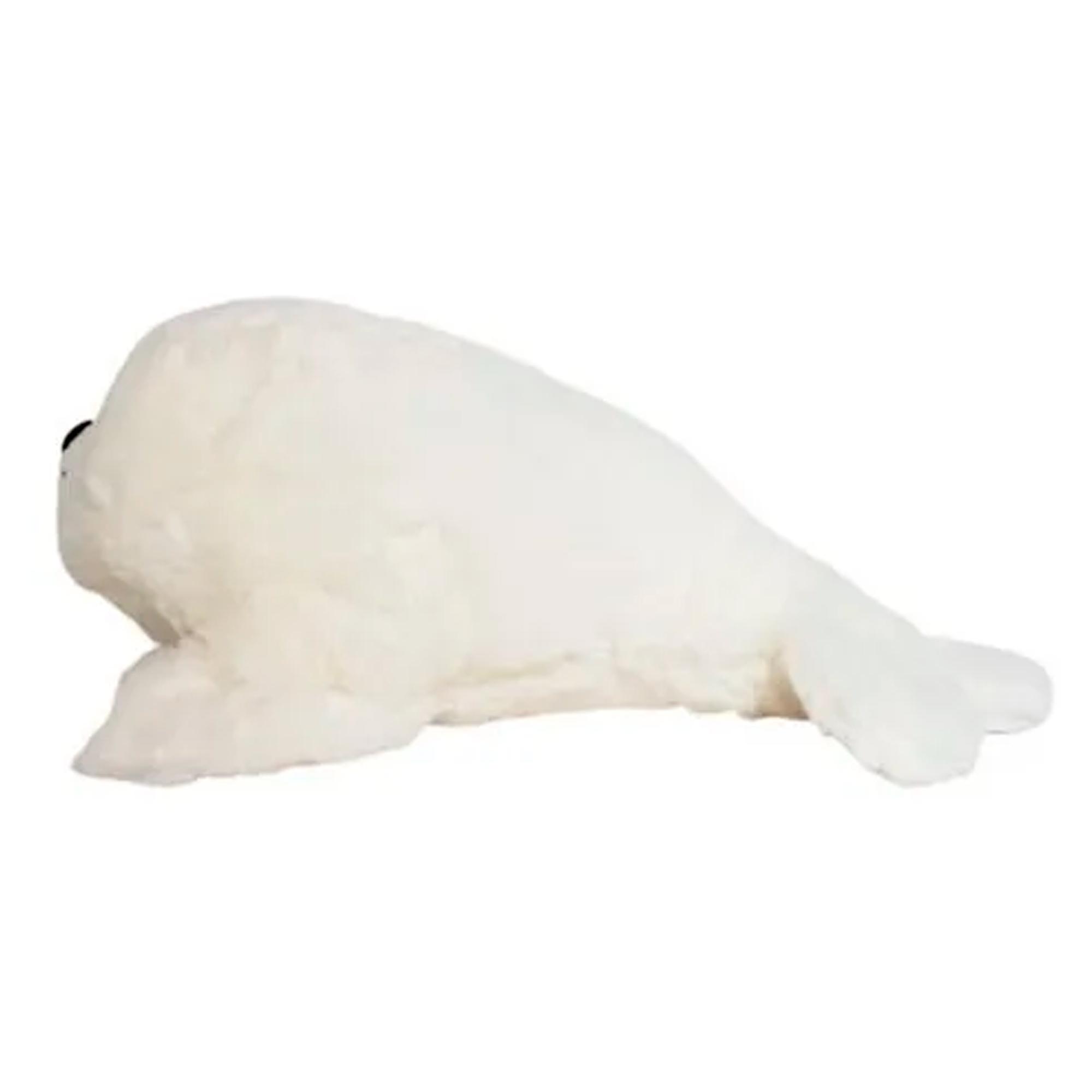 Foca de Pelúcia Branco 33cm