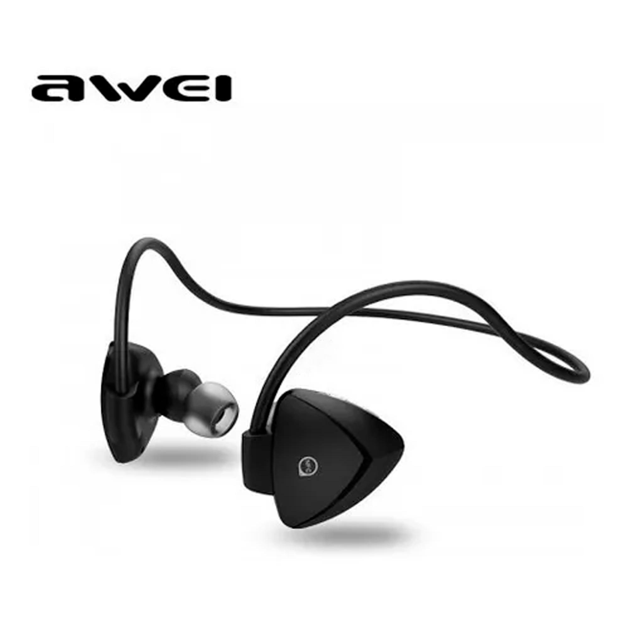 Fone de Ouvido Sem Fio Bluetooth Awei A840BL In-Ear Neckband Esportivo