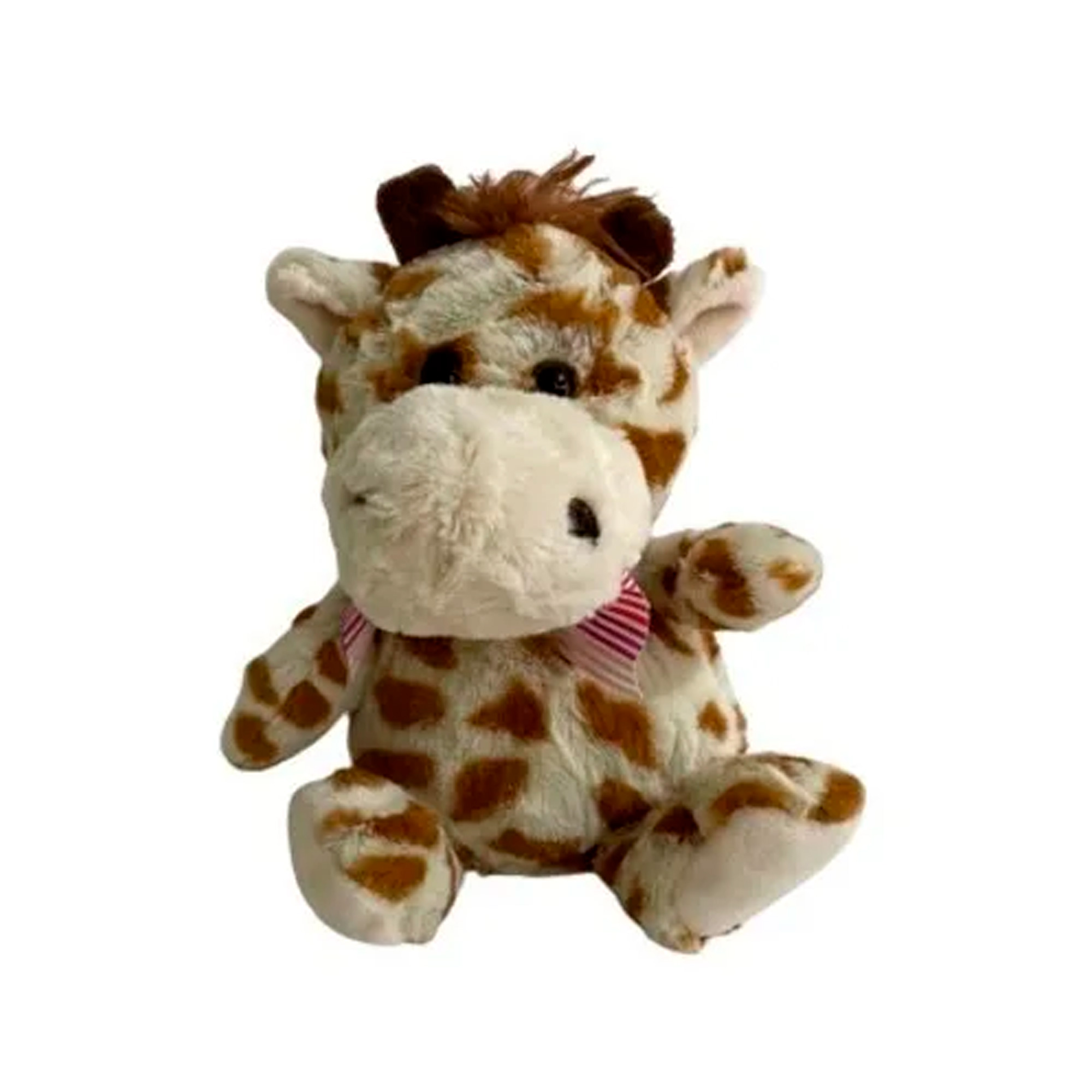 Girafa de Pelúcia 19cm Sentado