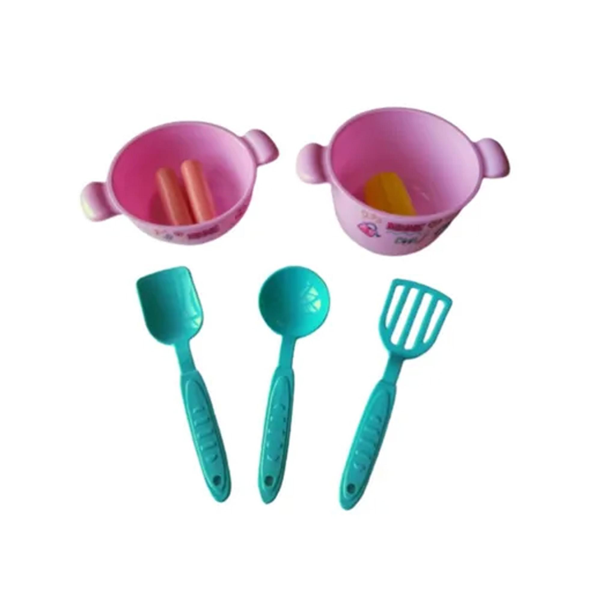 Kit Comidinha Infantil Panelinhas Acessórios Minnie Disney - Mielle