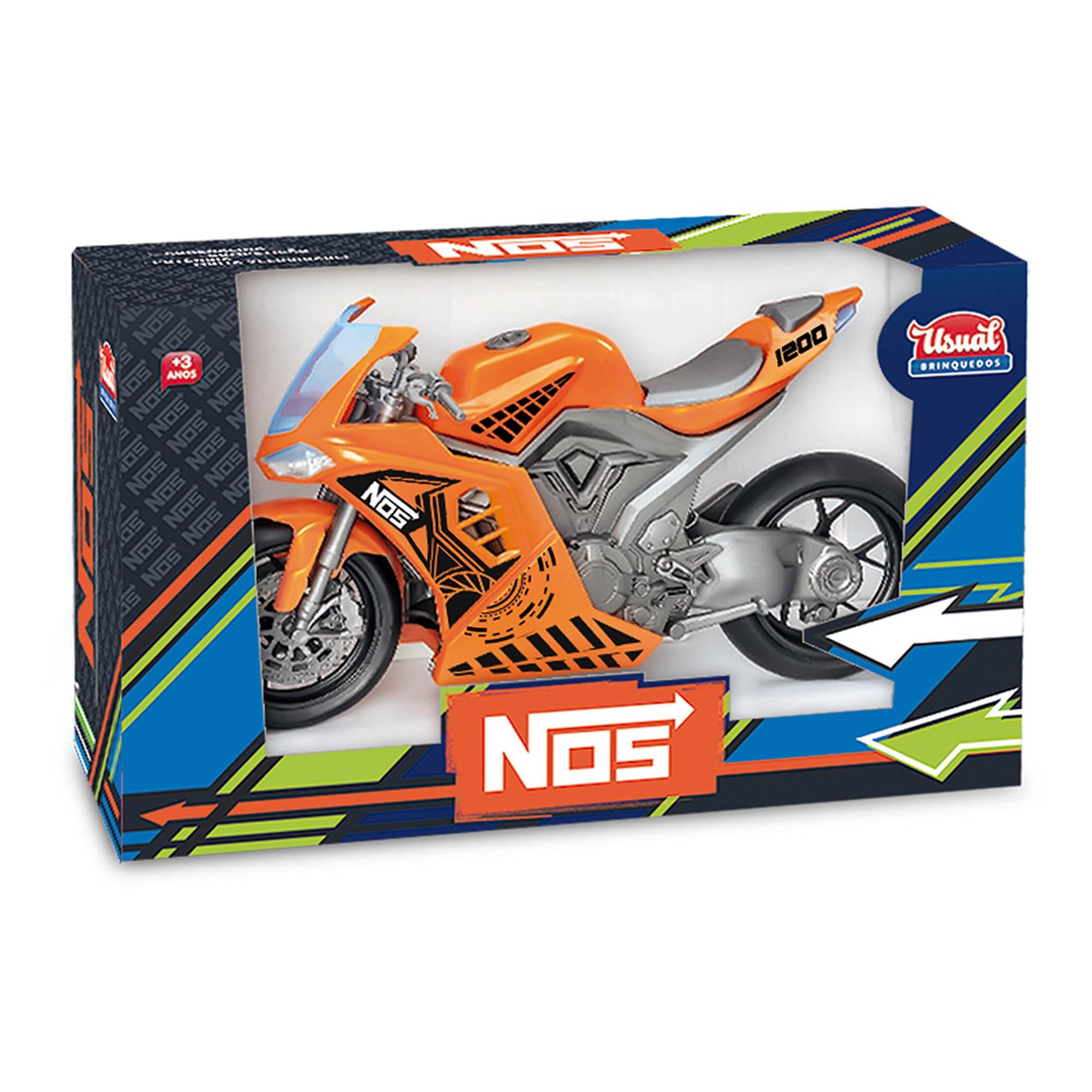 Moto Nos 1200 Sport - Usual Brinquedos