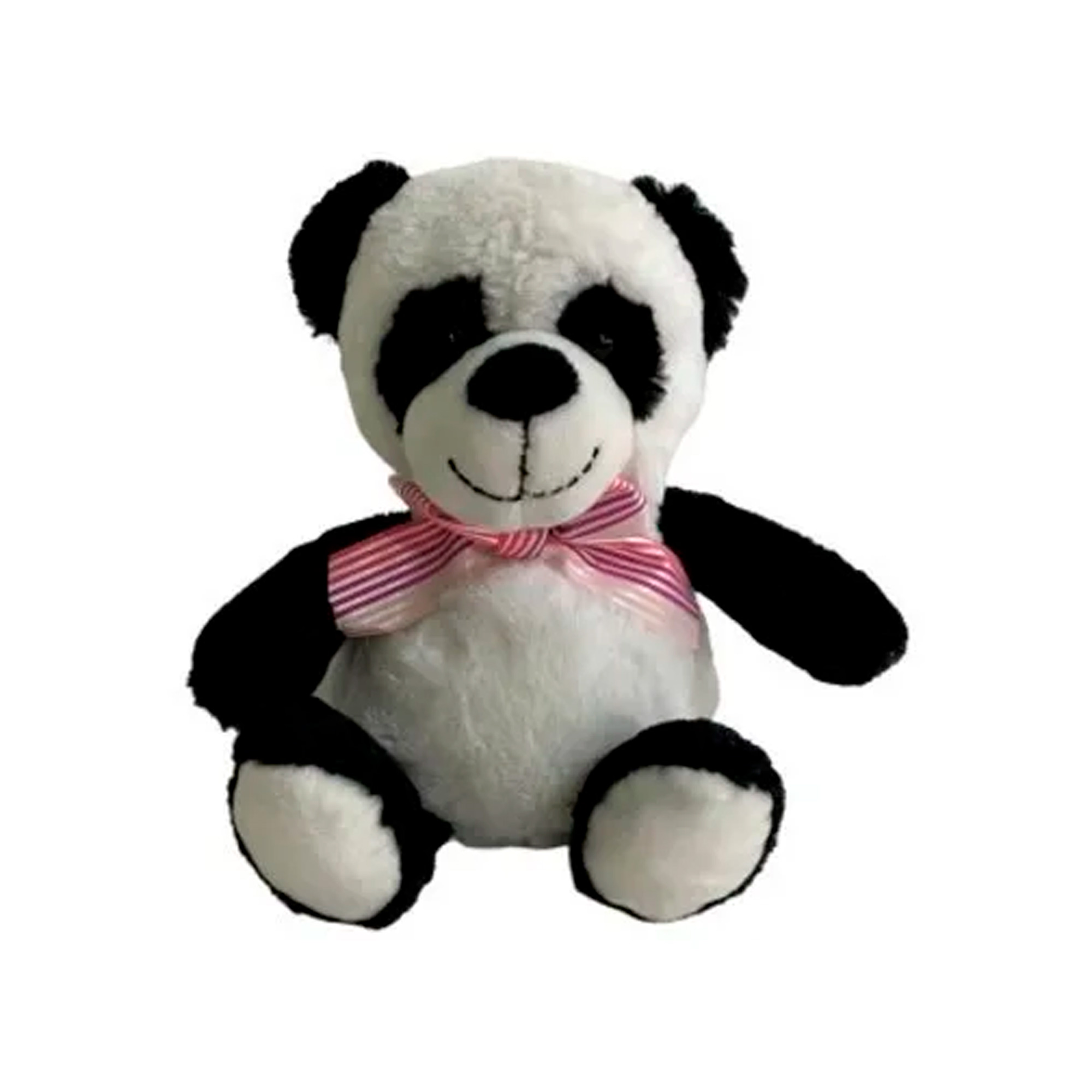 Panda de Pelúcia 19cm Sentado