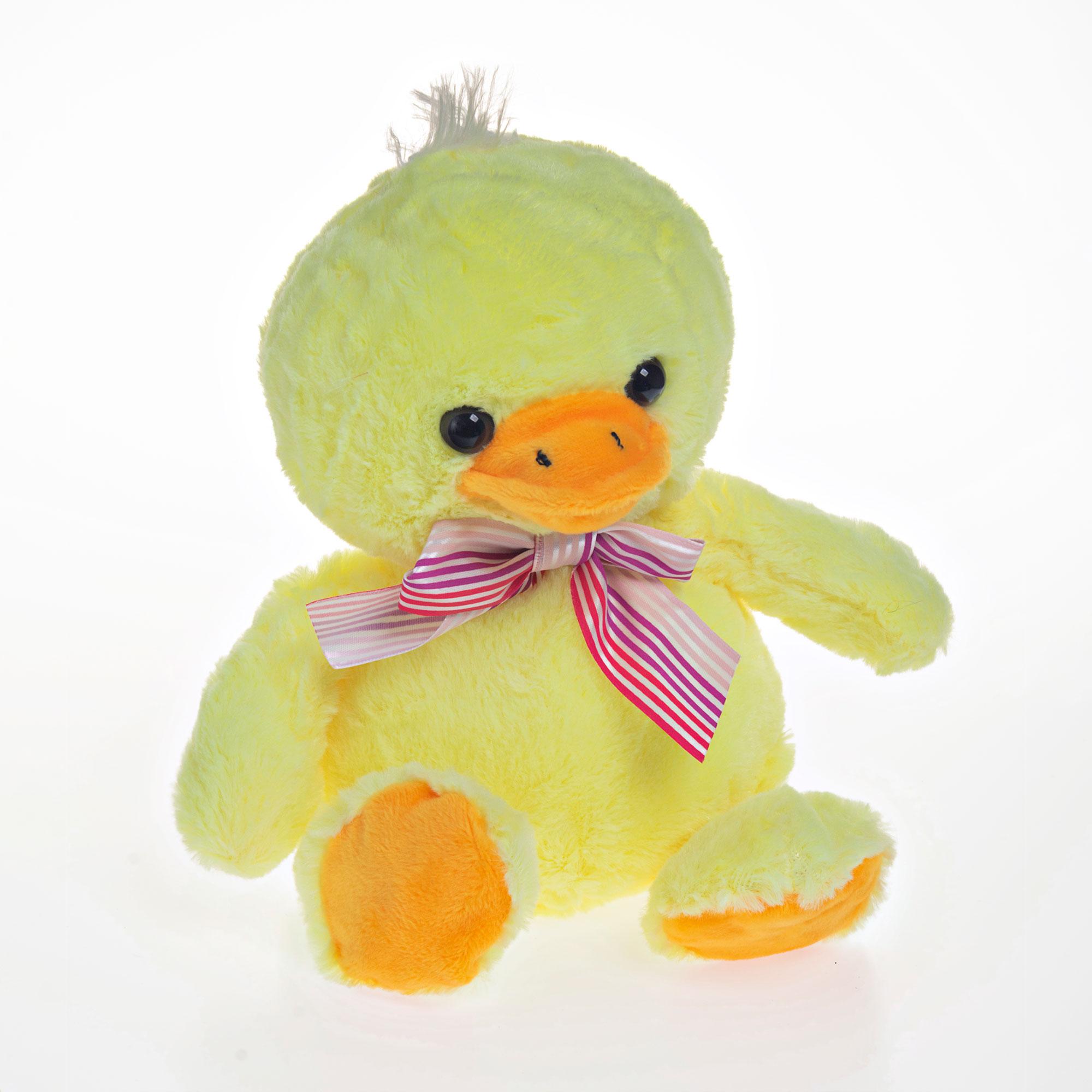 Pato de Pelúcia 19cm Sentado