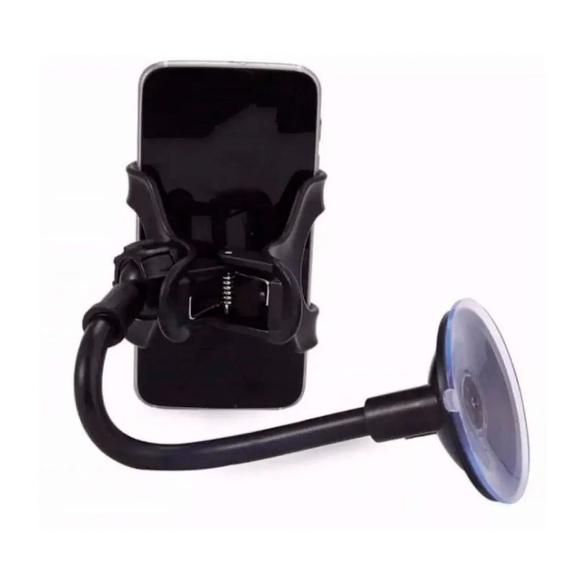 Suporte Universal Veicular Para Celular Com Ventosa P/ Vidro