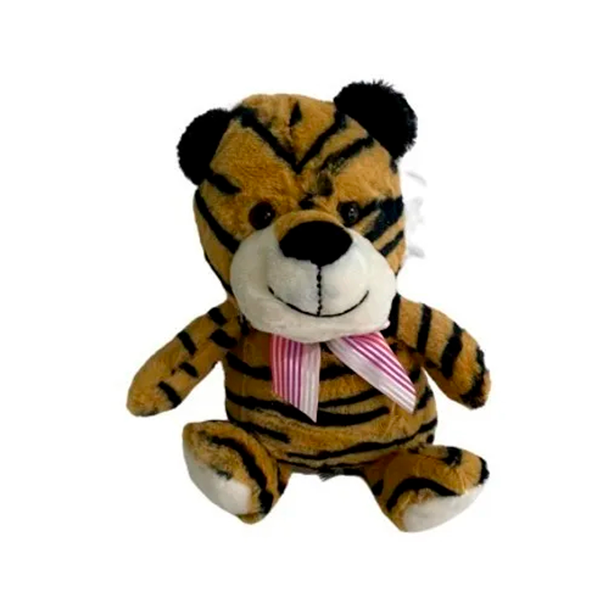 Tigre de Pelúcia 19cm Sentado