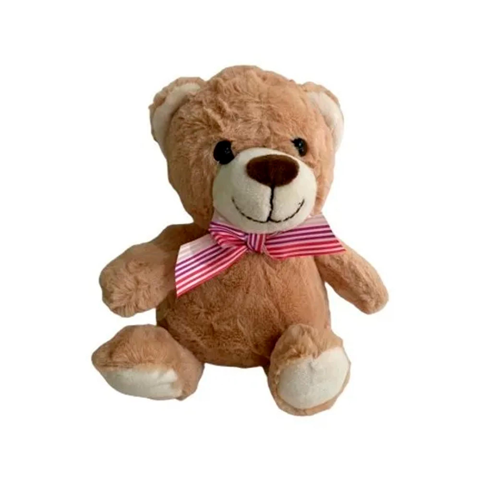 Urso de Pelúcia 19cm Sentado