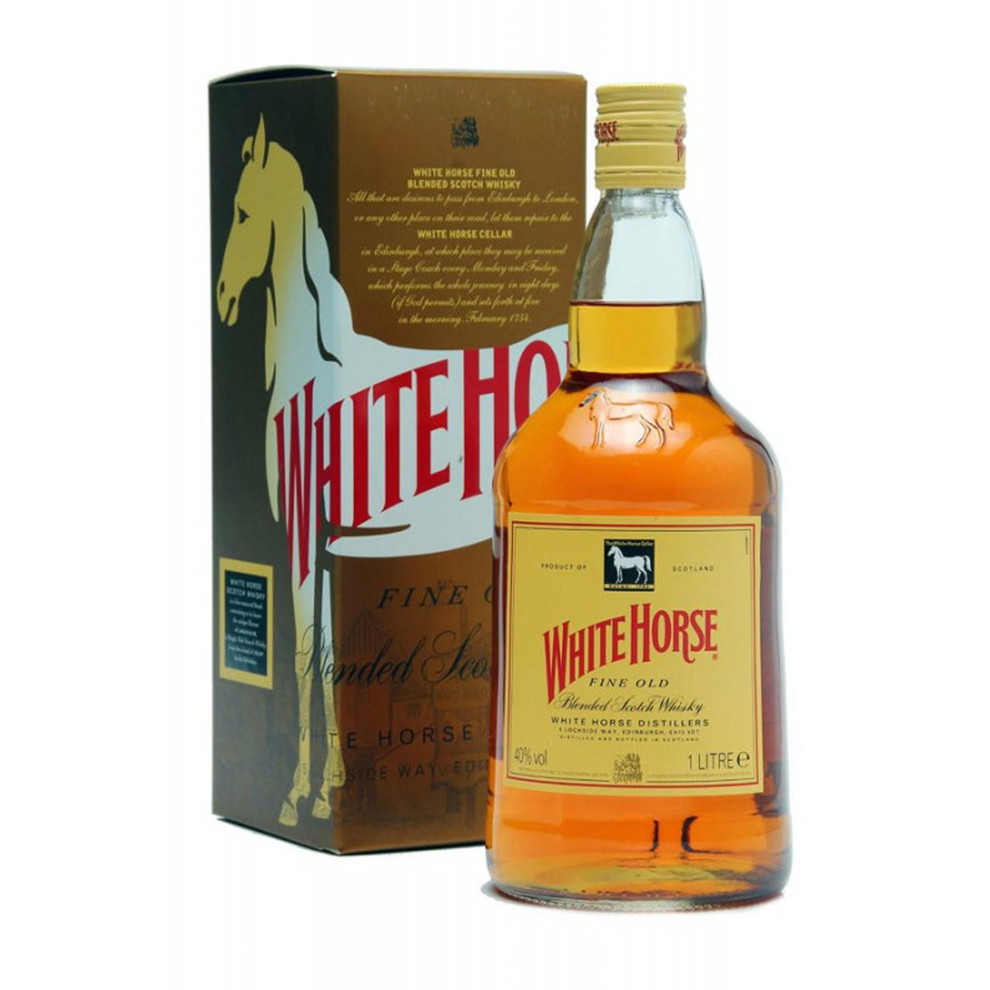 Whisky White Horse 8 Anos 1 Litro