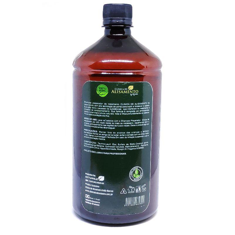 Escova Orgânica Clínica de Alisamento - 2x1000ml
