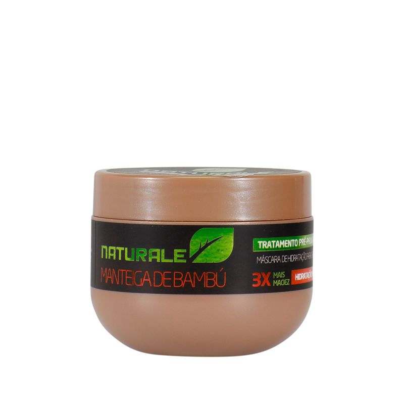Máscara Naturale - Reconstrução - Tratamento Pré e Pós Químicas - 300gr