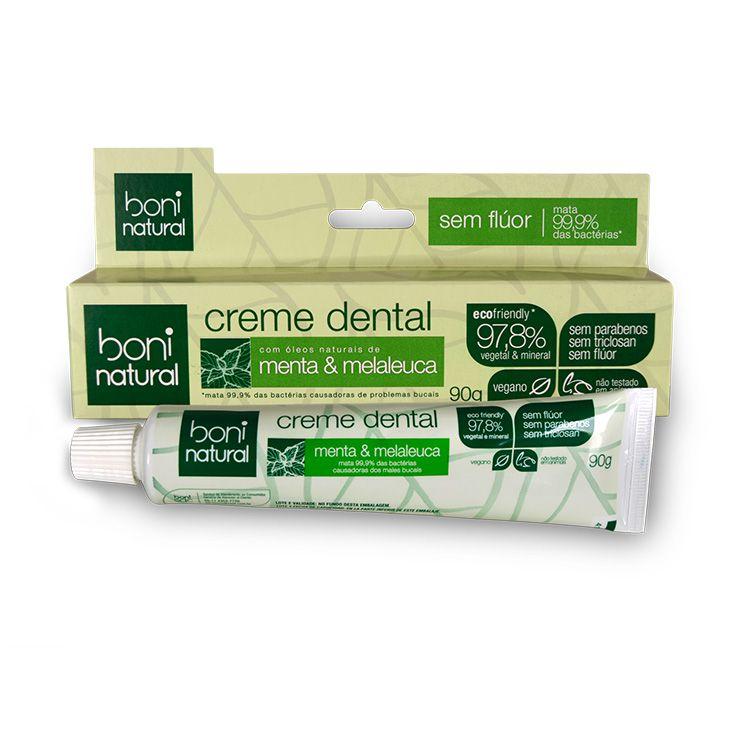 Creme Dental Menta e Melaleuca 90g