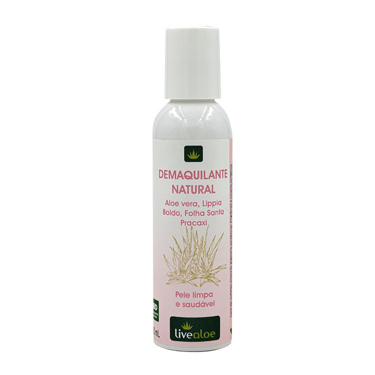 Demaquilante Natural 120ml - Live Aloe