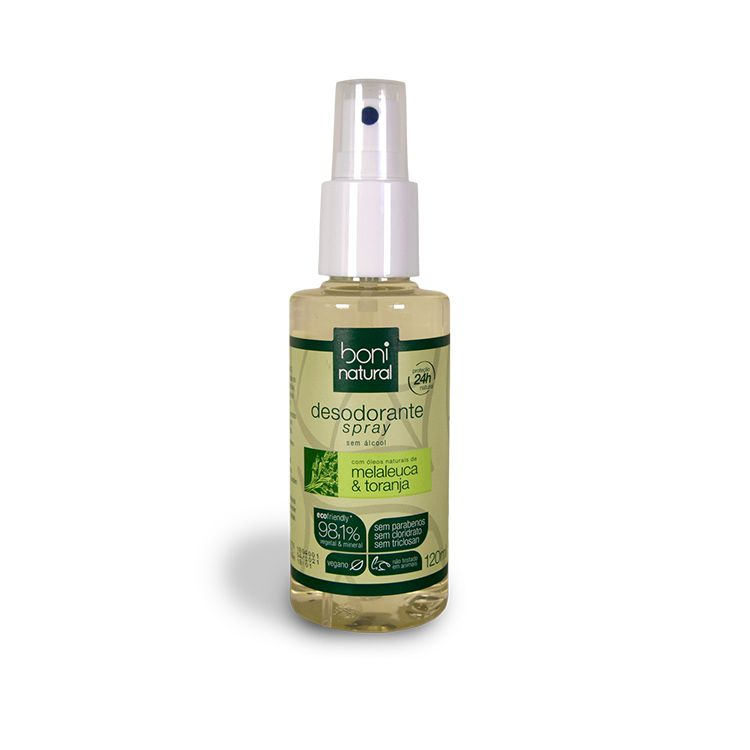 Desodorante Natural Melaleuca & Toranja 120ml
