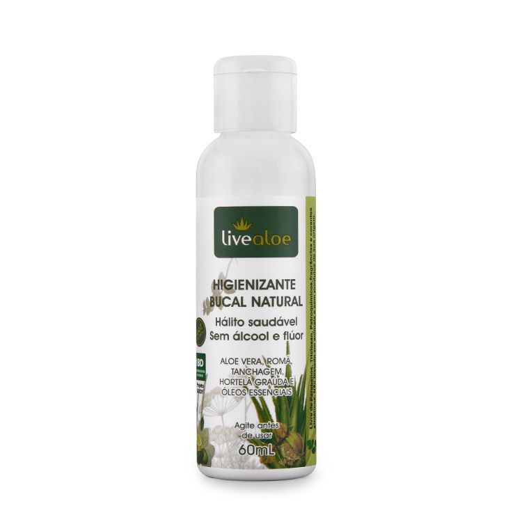 HIGIENIZANTE BUCAL NATURAL 60mL