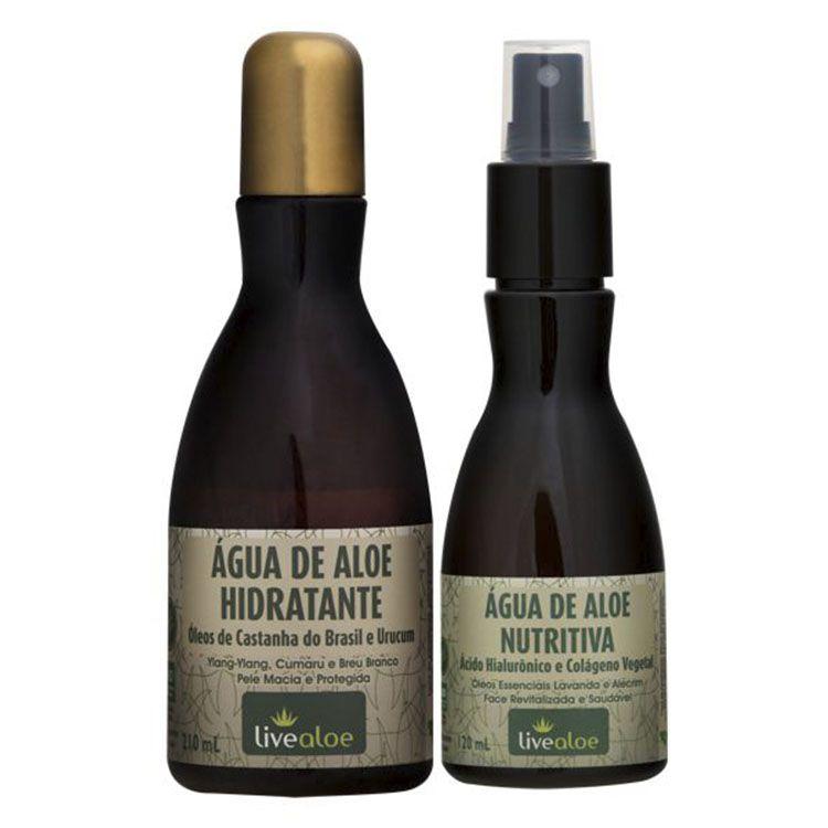 Kit Água Hidratante + Água Nutritiva - Live Aloe