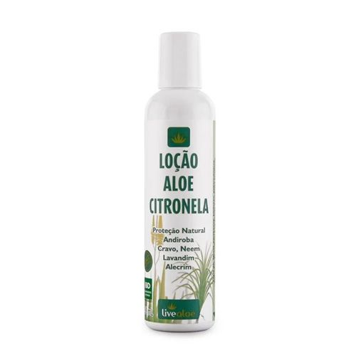 Loção Aloe Citronela 200ml