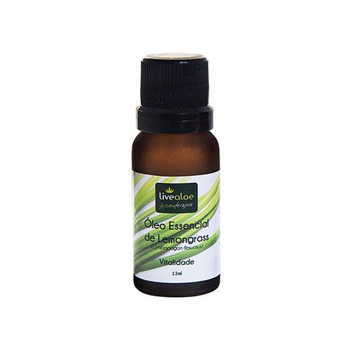 Óleo Essencial de Lemongrass (Campim Limão) - 12ml
