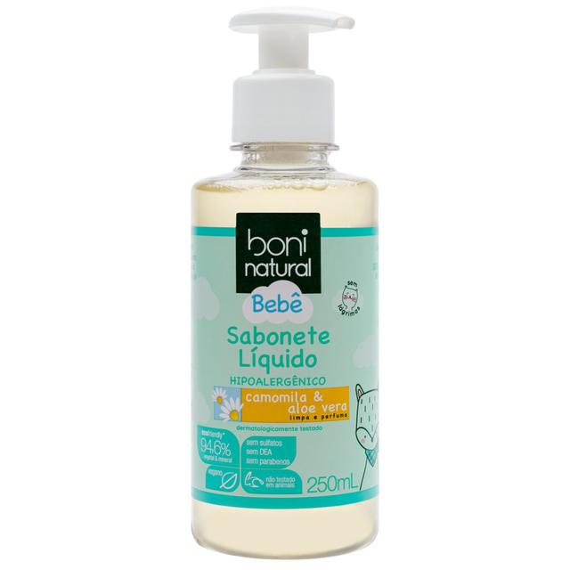 Sabonete Líquido Boni Natural Bebê 250ml
