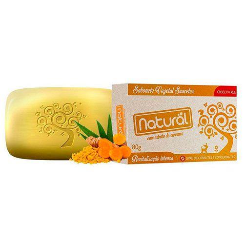 Sabonete Natural com Extrato de Cúrcuma 80g