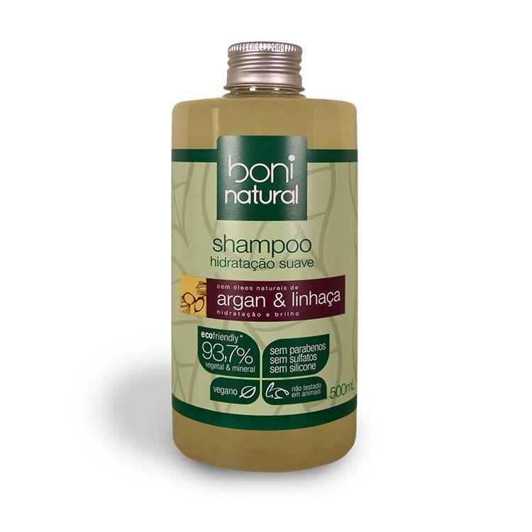 Shampoo de Argan & Linhaça 500ml