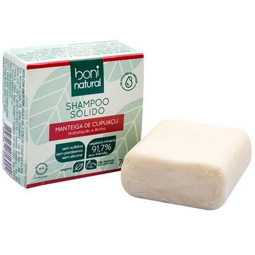 Shampoo Sólido Cupuaçu 70g
