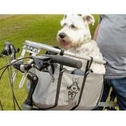 Cadeirinha Bike Cesta P/ Cachorro Pet Basket Bege