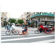 Charrete Para Bicicleta Com Amortecedor - Para 2 Pessoas