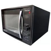 Forno Eletrico de Bancada Du Chef 45l Preto Safanelli