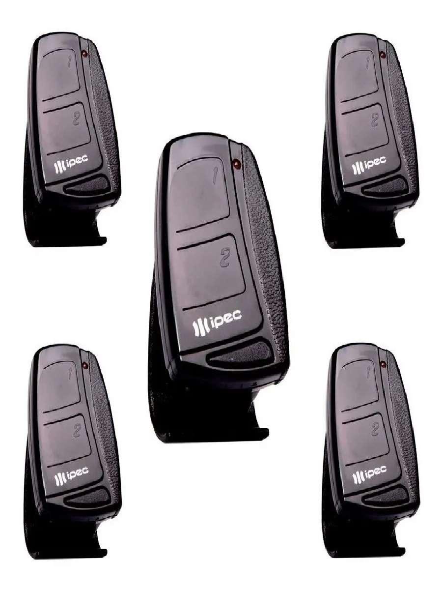 5 Controles Portão Eletrônico Alarme 433mhz Rcg Seg Garen Ppa