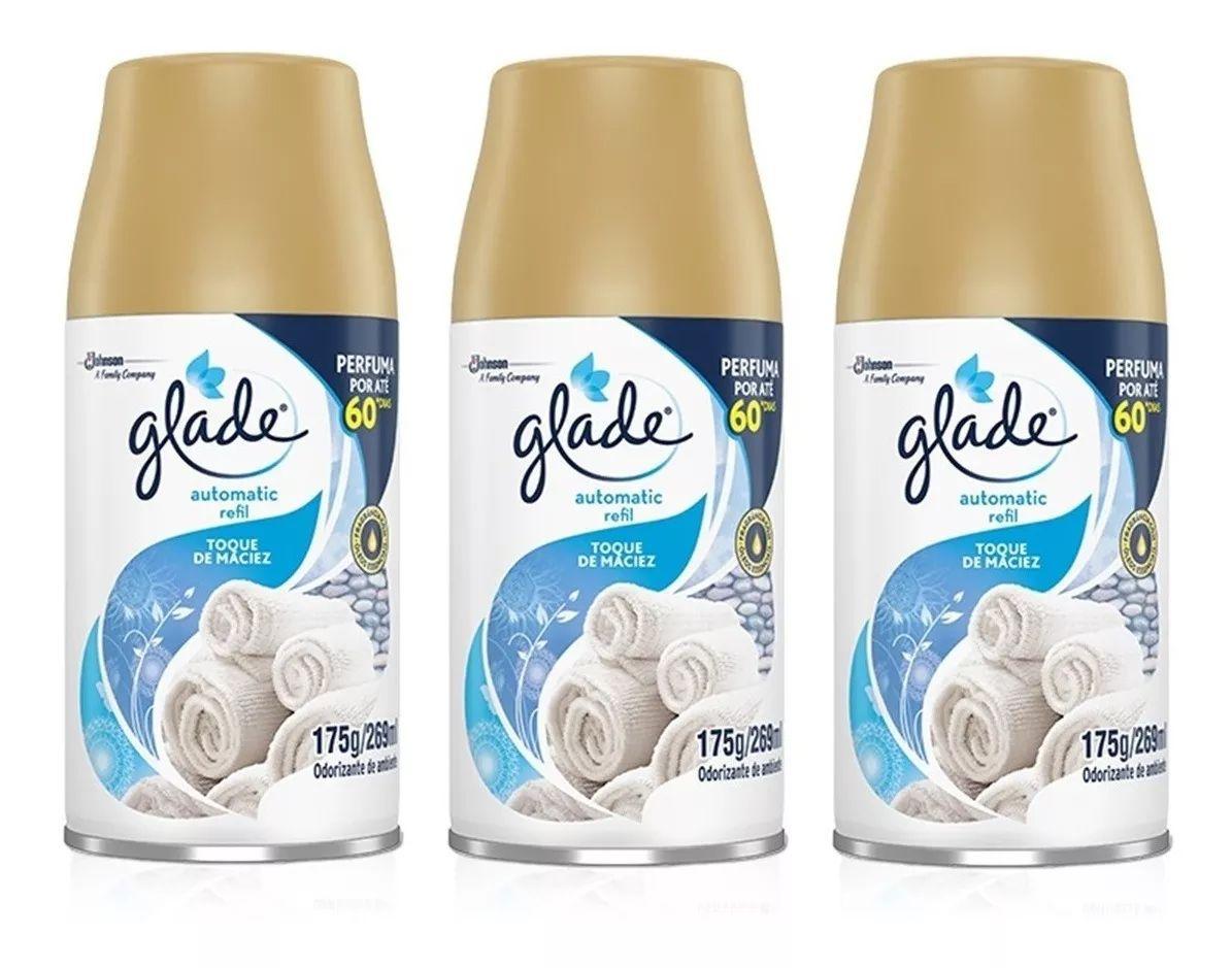 Aromatizador de Ambientes Glade Automatic 3 Refis de 269 ml