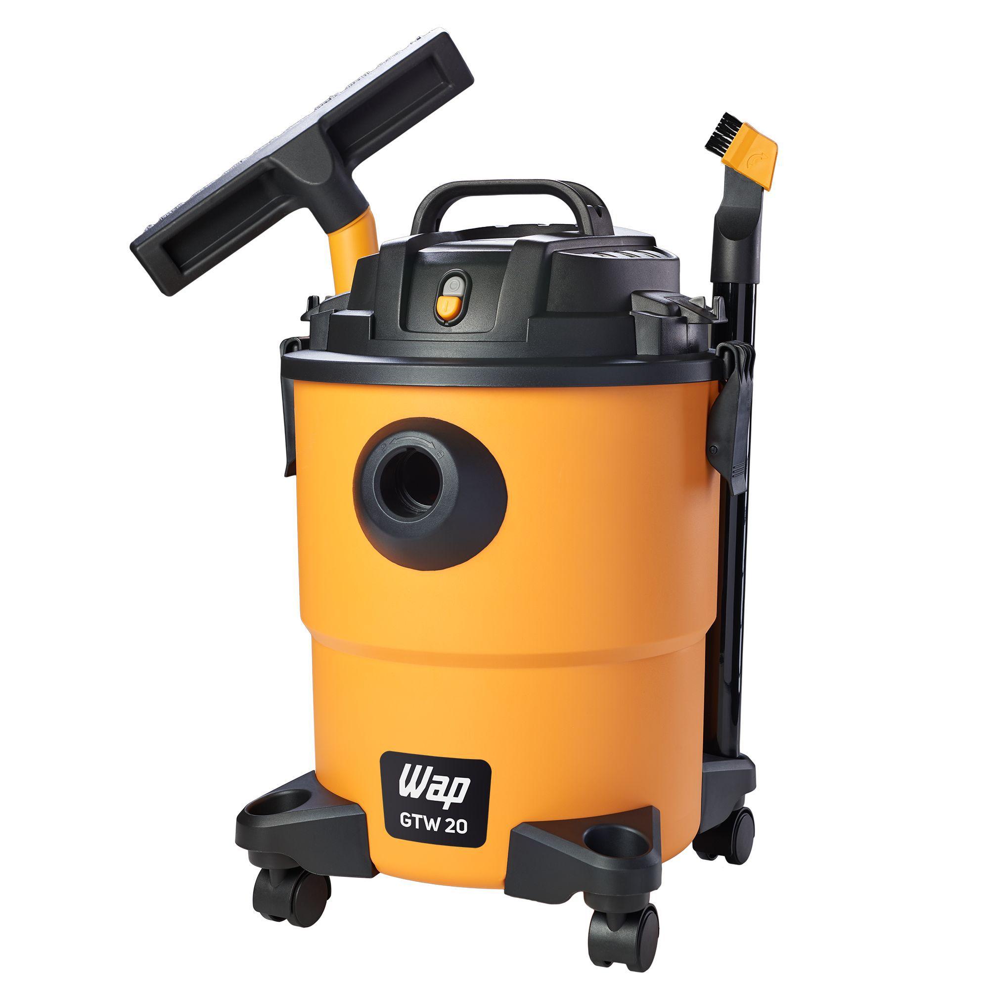 Aspirador De Água E Pó 1600w 20 Litros Profissional Wap GTW 20 220V