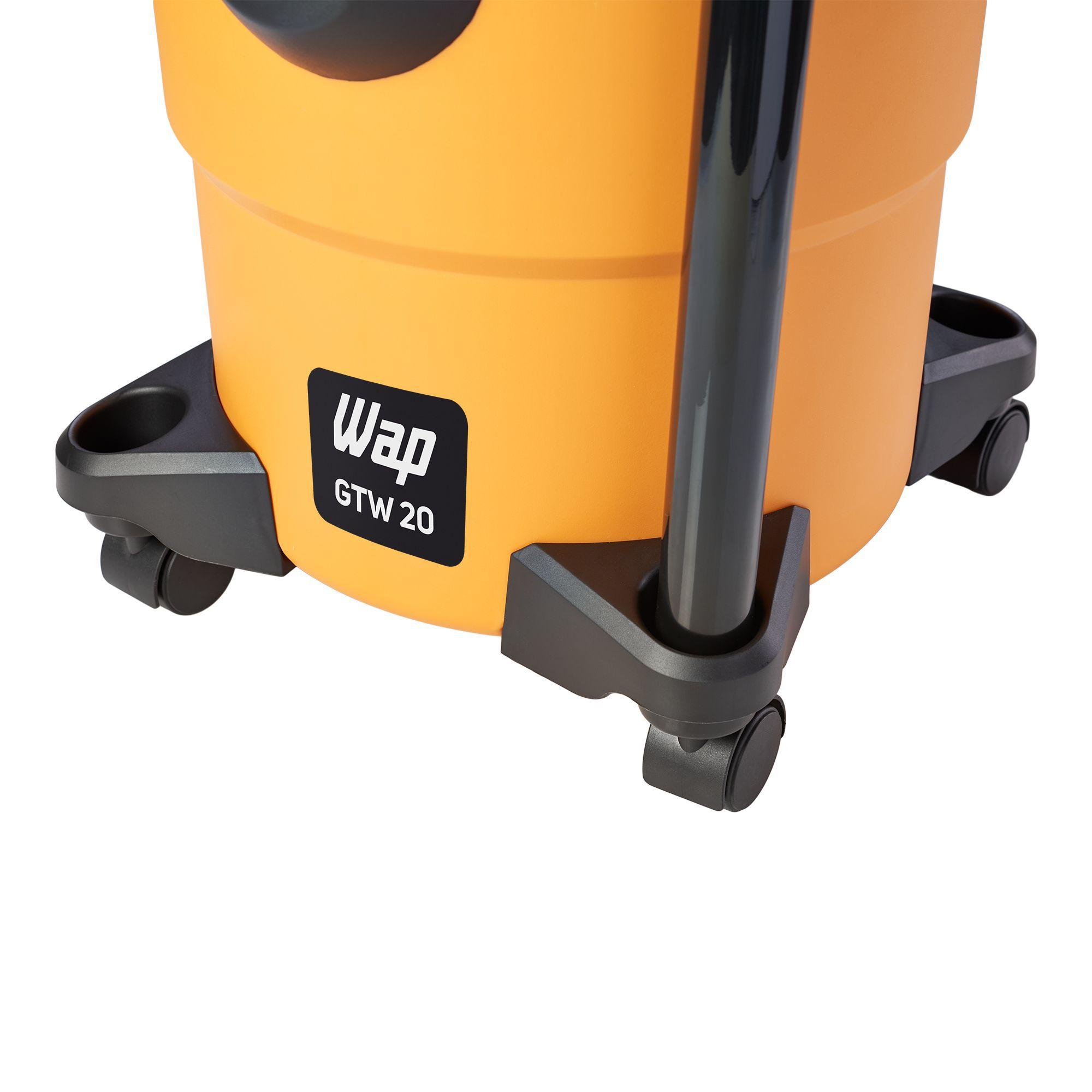 Aspirador De Água E Pó 1600w 20 Litros Profissional Wap GTW 20 127V