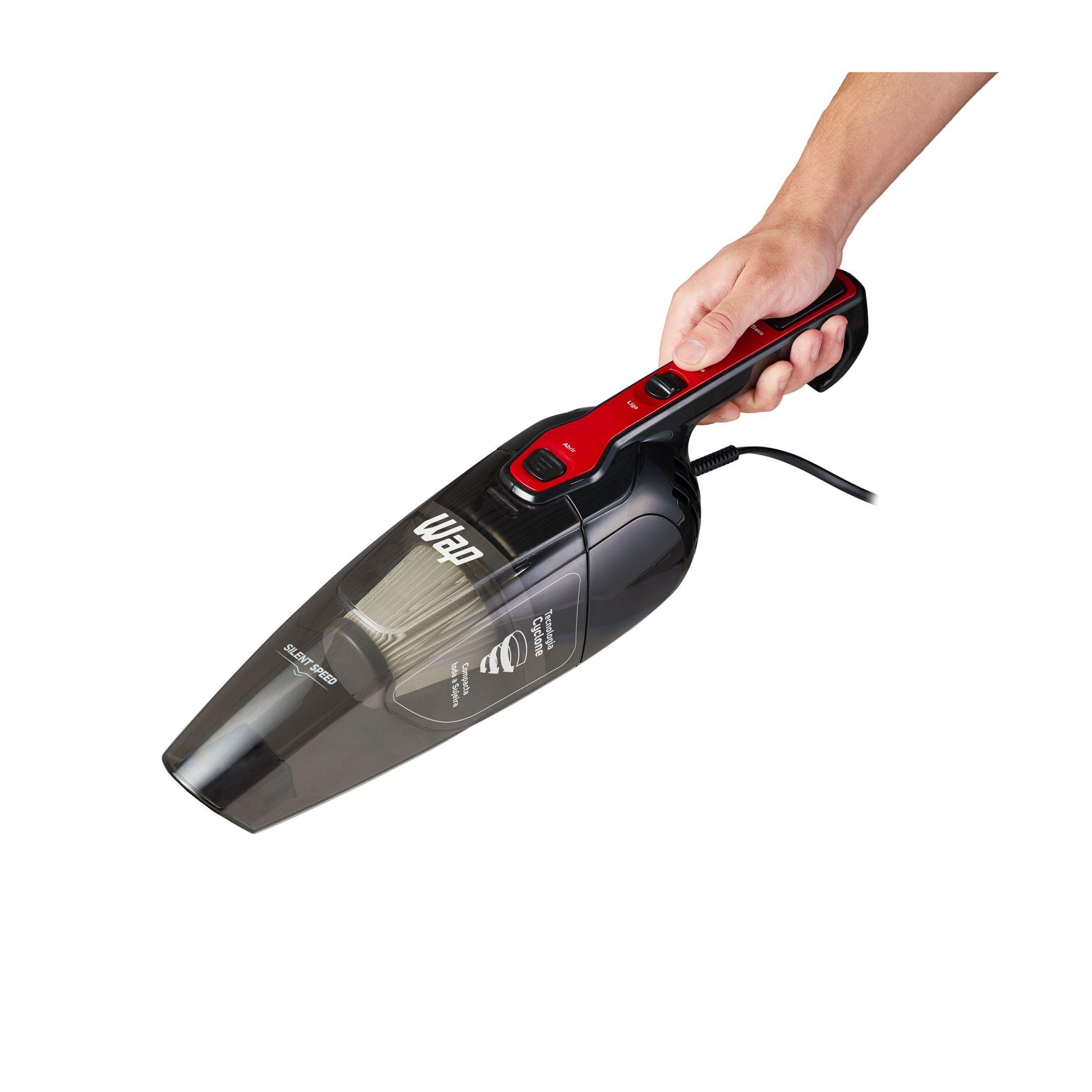 Aspirador Wap Silent Speed 1L preto e vermelho 127V Envio Imediato