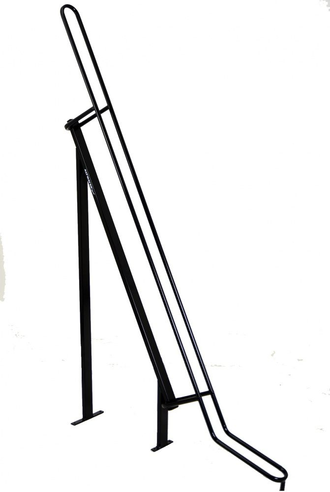 Bicicletário / Expositor de Bicicleta Para Chão Industrial Preto